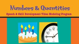 Special Kids Learning Series: Numbers & Quantities